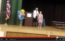 Video Rachel gets honored at school!