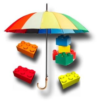 umbrellaLego