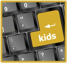 KidsKeyboardGold