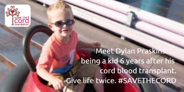 Dylan Praskins _ Amusement Park Post Cord Blood Transplant_Age 6