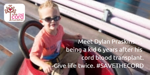 Dylan Praskins _ Amusement Park Post Cord Blood Transplant_Age 6