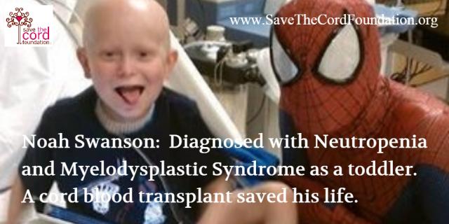 Noah Swanson_cord blood transplant
